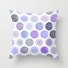 Watercolor Lovely Pattern VI Throw Pillow