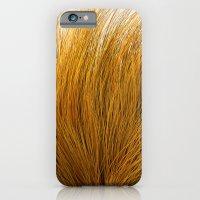 iPhone & iPod Case featuring Orange Fuzz by FalexanderArt