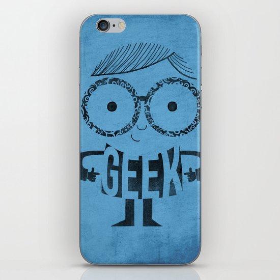 GEEK iPhone & iPod Skin