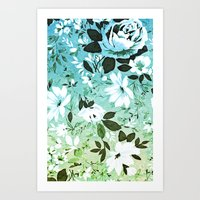 Vintage Flowers XL - for iphone Art Print