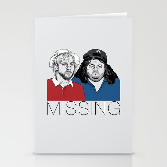 Missing Stationery Card