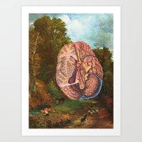 Brainscape Art Print