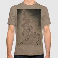 CAMINOALAMUERTE Mens Fitted Tee Tri-Coffee SMALL