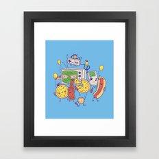 Woohoo! Framed Art Print