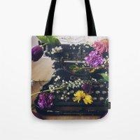 Corona Flowers  Tote Bag