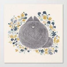 Kitch Cat Canvas Print
