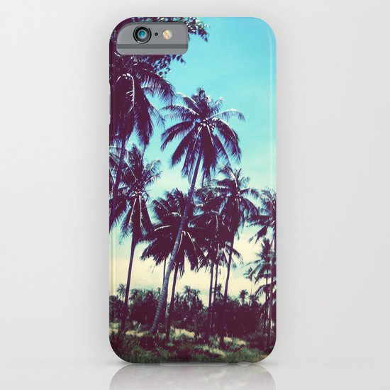 Road of palm trees iPhone & iPod Case