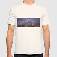 Desert City Mens Fitted Tee Natural SMALL