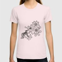Hummingbird - Picaflor - Beijaflor - Colibrí Womens Fitted Tee Light Pink SMALL