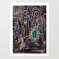Murray Sent from God  Art Print
