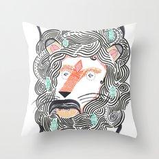 Listen to Your Lion Throw Pillow