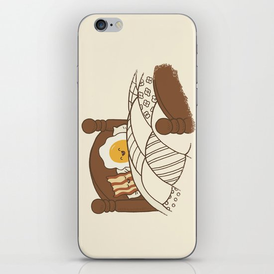 Breakfast In Bed  iPhone & iPod Skin