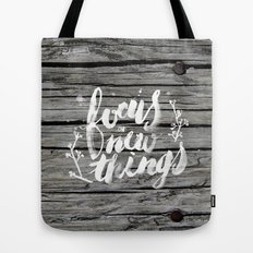 Focus on new things Tote Bag