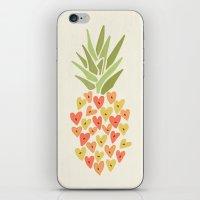 My Pineapple Valentine iPhone & iPod Skin