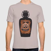 Snake Oil Mens Fitted Tee Cinder SMALL
