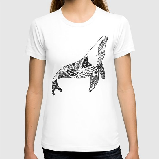 Patchwork Whale T-shirt