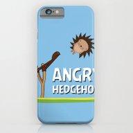 Angry Hedgehog iPhone 6 Slim Case