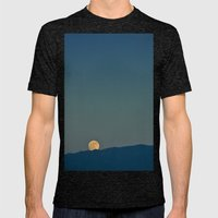 Blue Sky Moon, 2011 Mens Fitted Tee Tri-Black SMALL