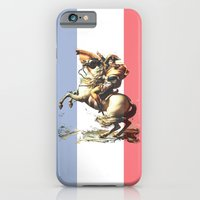 iPhone & iPod Case featuring Napoleon Crossing the Alps by Von Betelgeuse