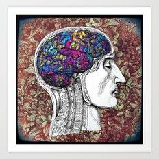 Creative mind Art Print