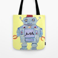 Robot Robotic! Tote Bag