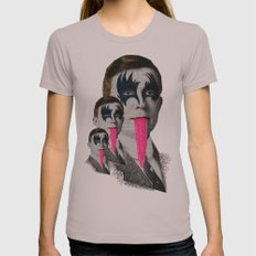kiss Womens Fitted Tee Cinder SMALL