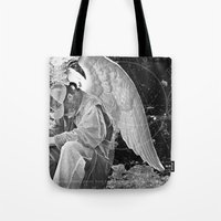 A Very Old Man with Enormous Wings Tote Bag