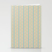 pixel Stationery Cards featuring Pixel  by AKN Art Design