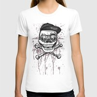 City of despair and good fortune Womens Fitted Tee White SMALL