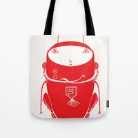 Red cricket Tote Bag