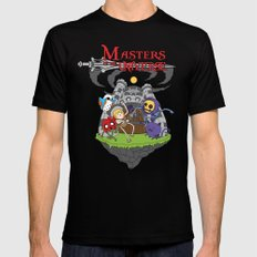 MASTER OF THE UNIVERSE SMALL Mens Fitted Tee Black