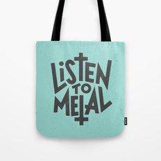 Listen To Metal, V2 Tote Bag