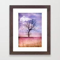 ATMOSPHERIC TREE | Early… Framed Art Print