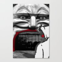 For Shame V2: Carnivale Canvas Print