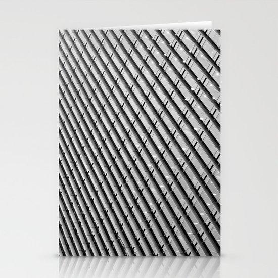 Canary Wharf  Abstract Stationery Card