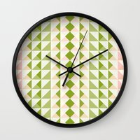 Pastel Love Wall Clock