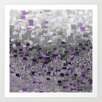 :: Purple-Rain Compote :: Art Print