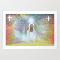 Be At Peace By Sherri Of… Art Print