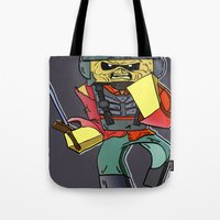 Eddie The Starship Troop… Tote Bag