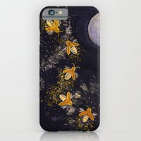 iPhone & iPod Case featuring Dance of the Fireflies by Dana Martin
