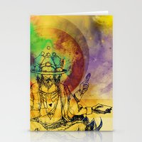 Brahma dream Stationery Cards