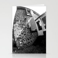 Confused Houses Stationery Cards