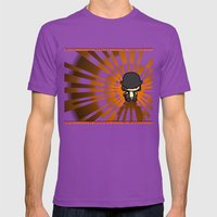 Clockwork Orange Mens Fitted Tee Ultraviolet SMALL