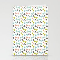 Spring bows Stationery Cards