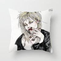 When I Get What I Want I… Throw Pillow