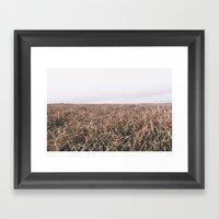 OPEN MOORE Framed Art Print