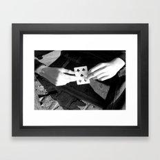 New friendships  Framed Art Print