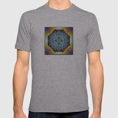 A Southwestern Garden Mens Fitted Tee Athletic Grey SMALL