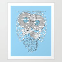 Internal Rhythm Art Print