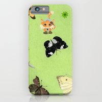 Butterfly watching iPhone 6 Slim Case